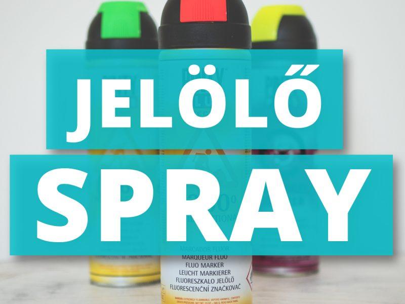 Jelölő sprayk